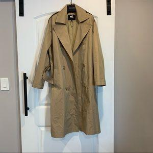 Maje trench coat size 2
